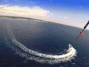 parasailing, water sport