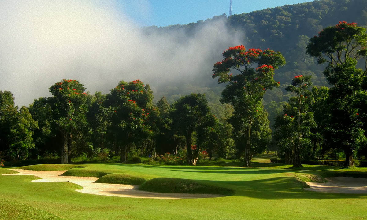 hole 2, handara, bali, golf, resort, bedugul, golf courses, handara golf, handara golf resort, golf resort bali, bedugul golf, bedugul golf course