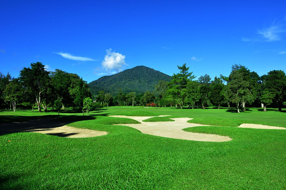 Handara Golf Bali, Bedugul Golf Course