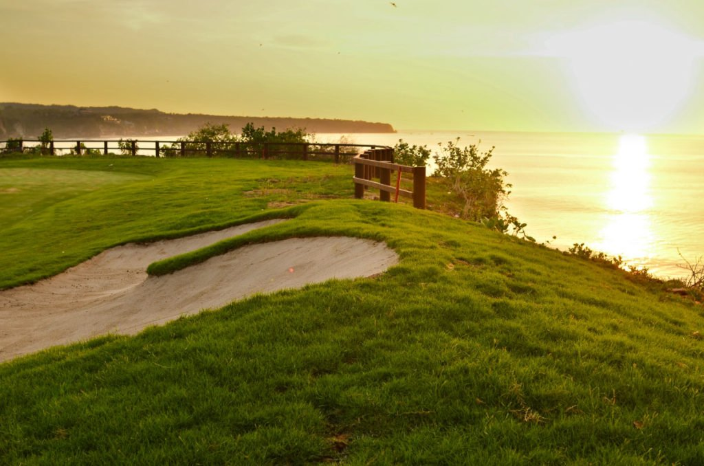 hole 15, ocean view, new kuta, bali, golf, course, club, dream land, new kuta, new kuta golf, new kuta golf course, bali golf, dream land golf, dream land golf resort