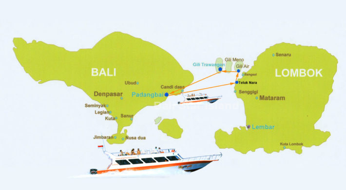 Gili Gili Fast Boat Time Schedule | Bali Lombok Boat Transports