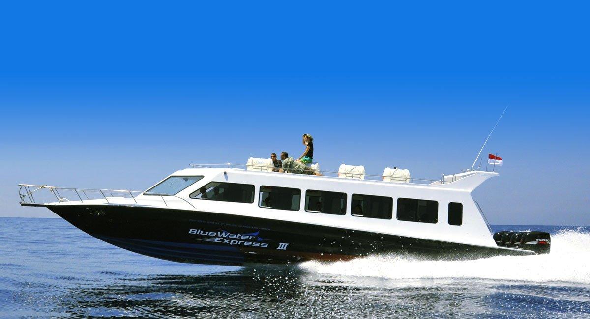 Blue Water Express | Bali – Lombok – Gili Fast Boat Transports