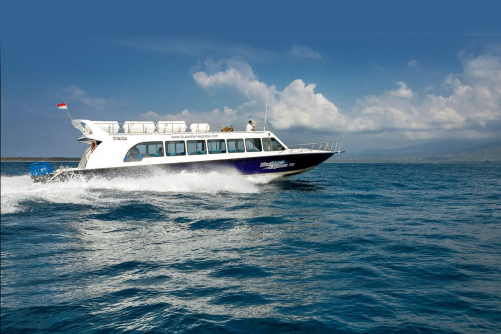 blue water express, vessel, boats, specifications, bali, lombok, boat transports