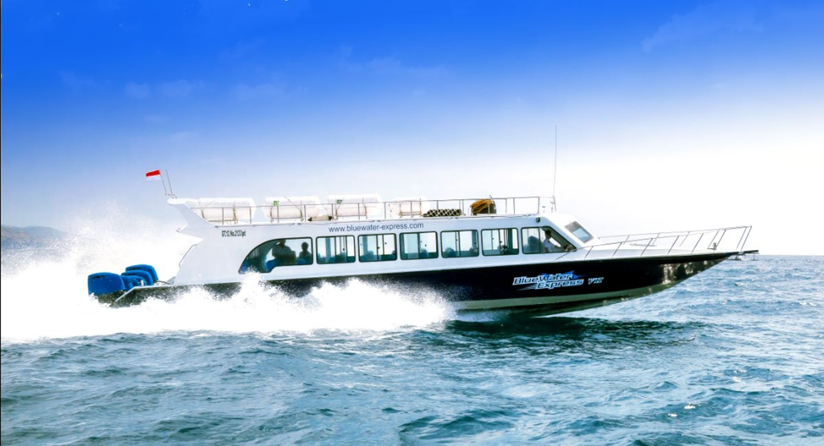Blue Water Express Specifications | Fast Boat Bali – Gili Islands