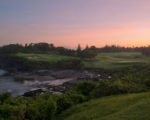 hole 7 sunrise, nirwana bali, nirwana bali golf, nirwana bali golf club, nirwana bali golf course