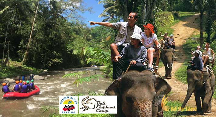 Bali Elephant Camp Rafting Packages