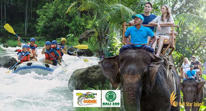 Bali Zoo Elephant Rafting Package – Bali Adventure Packages