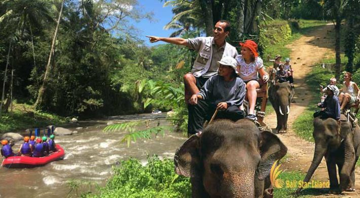 Bali Rafting Elephant Ride Packages