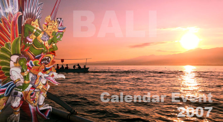 Bali International Event 2007 | Bali Calendar Events
