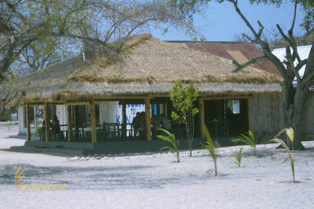 restaurant, resort, Kanawa island, labuan bajo, komodo national park