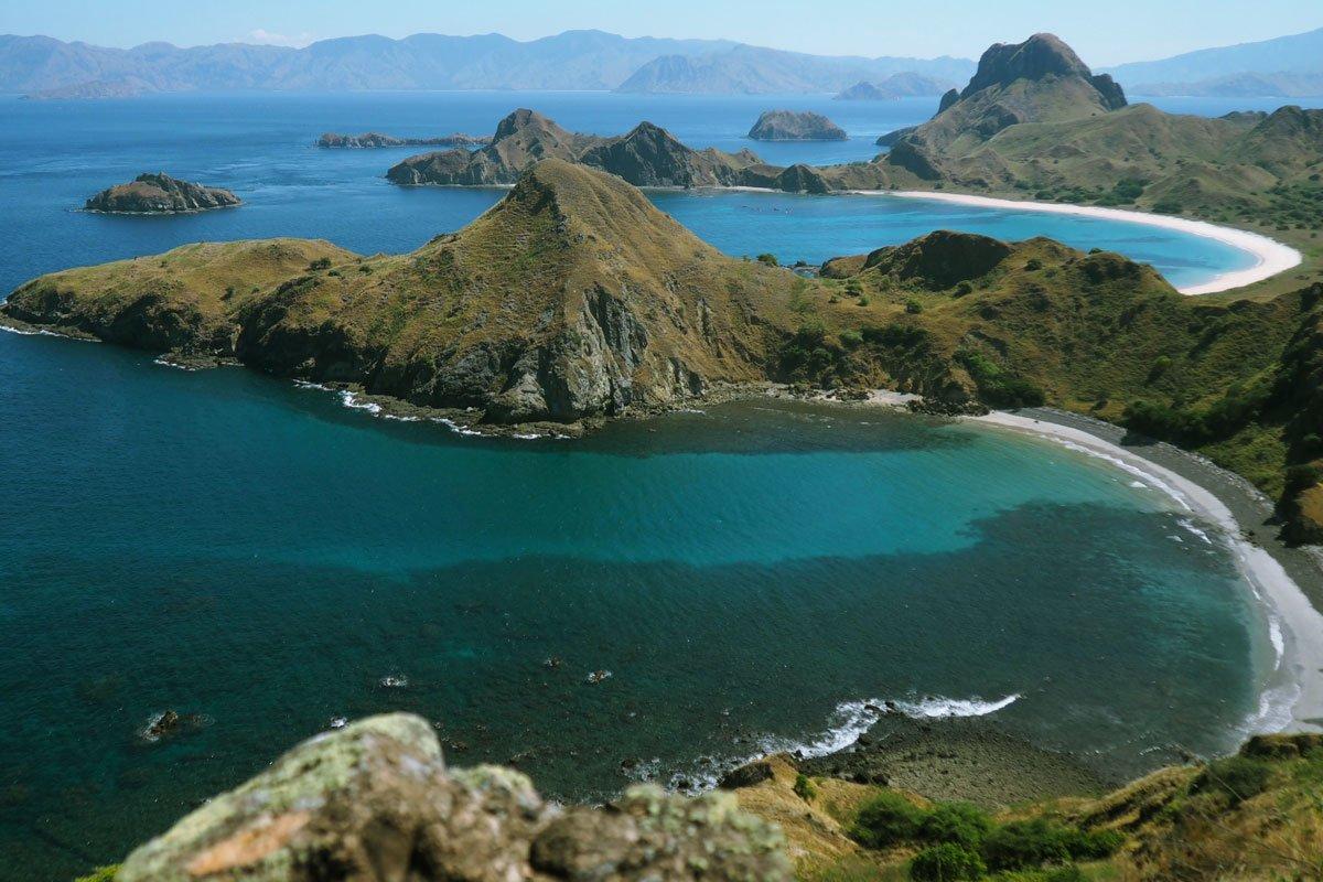 beautiful, left beaches, dry season, padar island, komodo, padar island komodo, komodo national park
