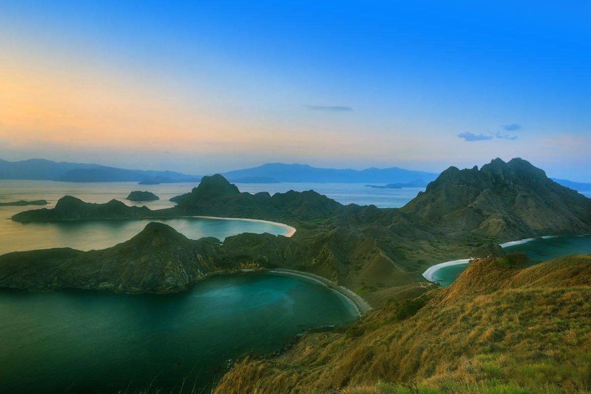 romantic view, padar island, komodo, padar island komodo, komodo national park