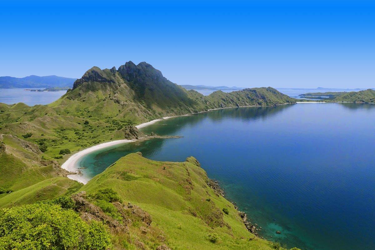 panorama, view, padar island, komodo, padar island komodo, komodo national park