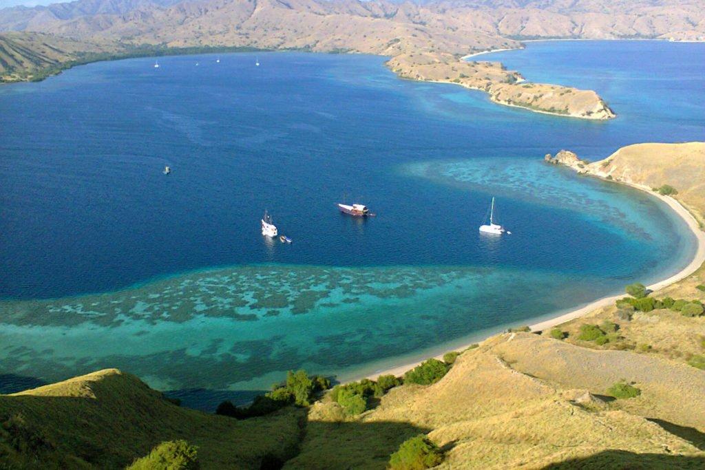 top view, padar island, komodo, padar island komodo, komodo national park
