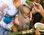 body cleaning, rituals, balinese, bali, three months, ceremony, bali three month baby, balinese three month baby ceremony