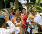 mother, farther, balinese, bali, three months, ceremony, bali three month baby, balinese three month baby ceremony