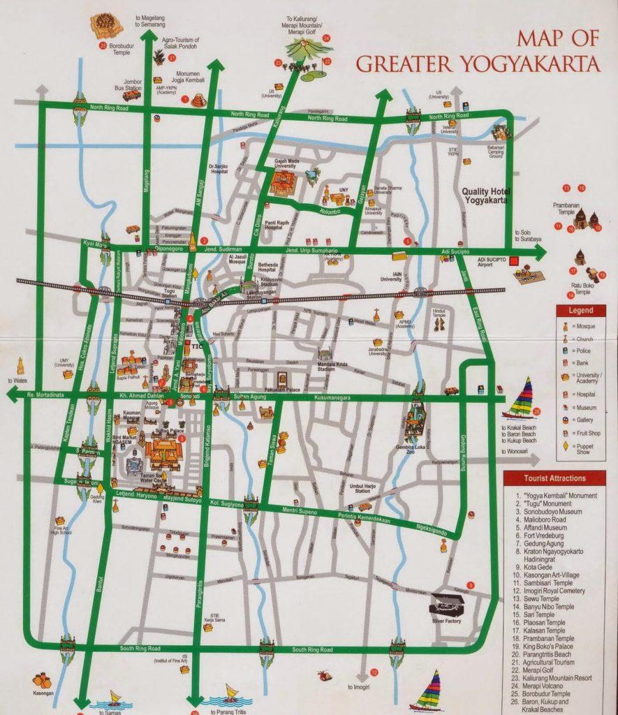 tourist information, yogyakarta city map, yogyakarta, tourism, maps, travel guides, yogyakarta tourism maps, yogyakarta maps