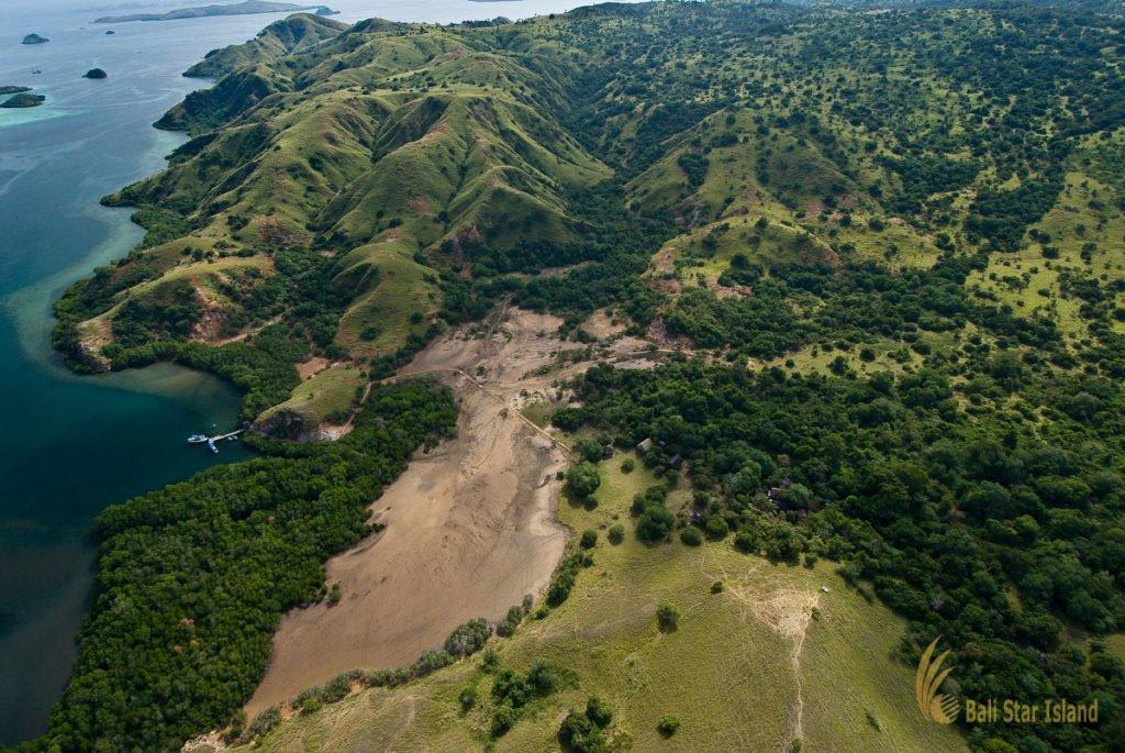 rinca island, overview, komodo national park