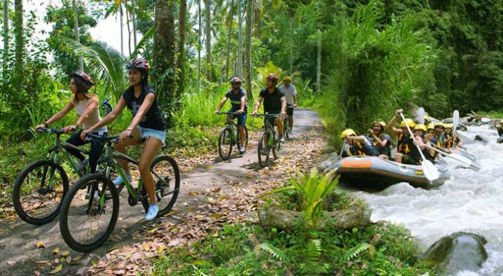 Mason Rafting Cycling Package