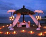 Bali Romantic Dinner, bali honeymoon packages