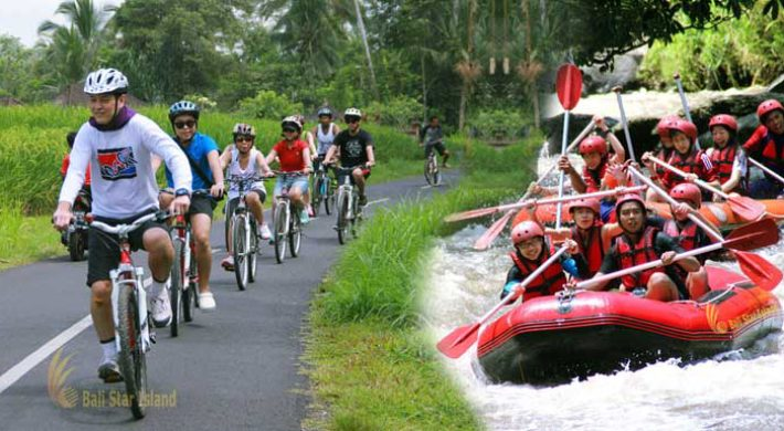 Bali Rafting Cycling Packages