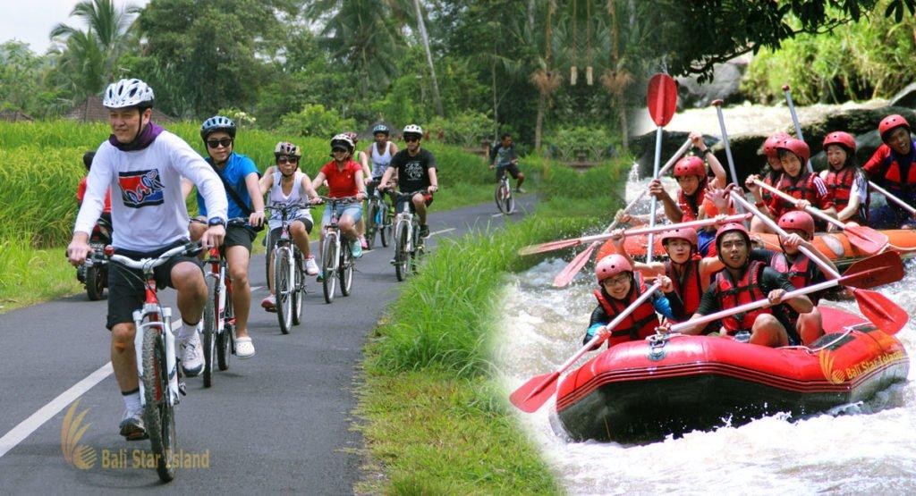 rafting cycling bali companies