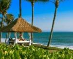 beach gazebo, pan pacific hotel, pan pacific nirwana bali, pan pacific nirwana bali resort