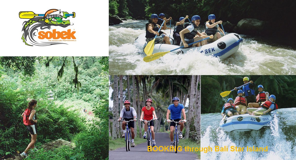 Sobek Bali Adventure Booking Form