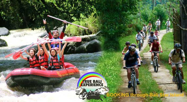 True Bali Experience Cycling Rafting Package