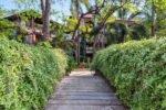 bali garden bridge, bali garden bridge access, bali garden beach resort
