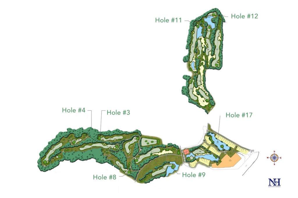 bali national golf, bali national golf map, nusa dua bali golf, nusa dua bali golf information