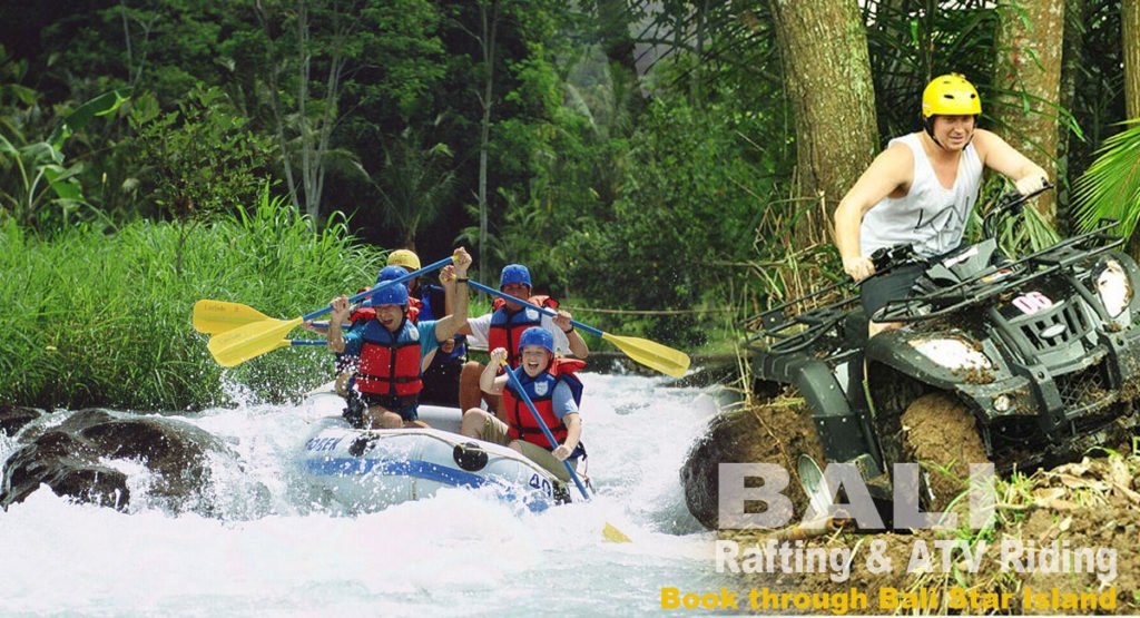 atv ride bali rafting, rafting atv ride, bali rafting atv ride