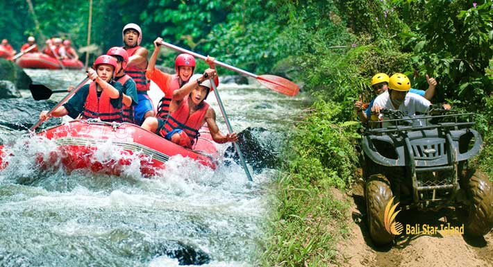 Pertiwi Quad Ayung Rafting Package – Bali Adventure Packages
