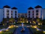 night building view, pullman bali, pullman bali legian, pullman bali legian nirwana, legian nirwana hotel