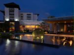 night view, pullman bali, pullman bali legian, pullman bali legian nirwana, legian nirwana hotel