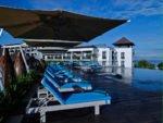 roof top infinity pool, pullman bali, pullman bali legian, pullman bali legian nirwana, legian nirwana hotel