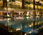 night pool, swiss-belhotel tuban night pool