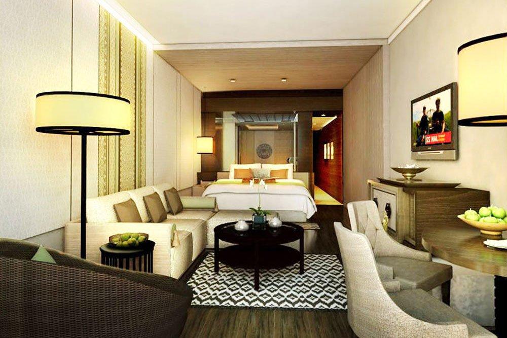 deluxe suite, living room, anvaya beach resort, deluxe suite anvaya, deluxe suite anvaya beach resort