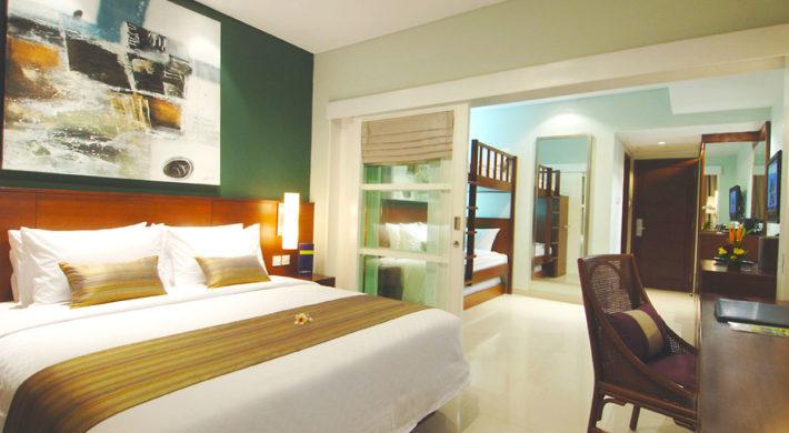 Family Studio Bali Dynasty Resort
