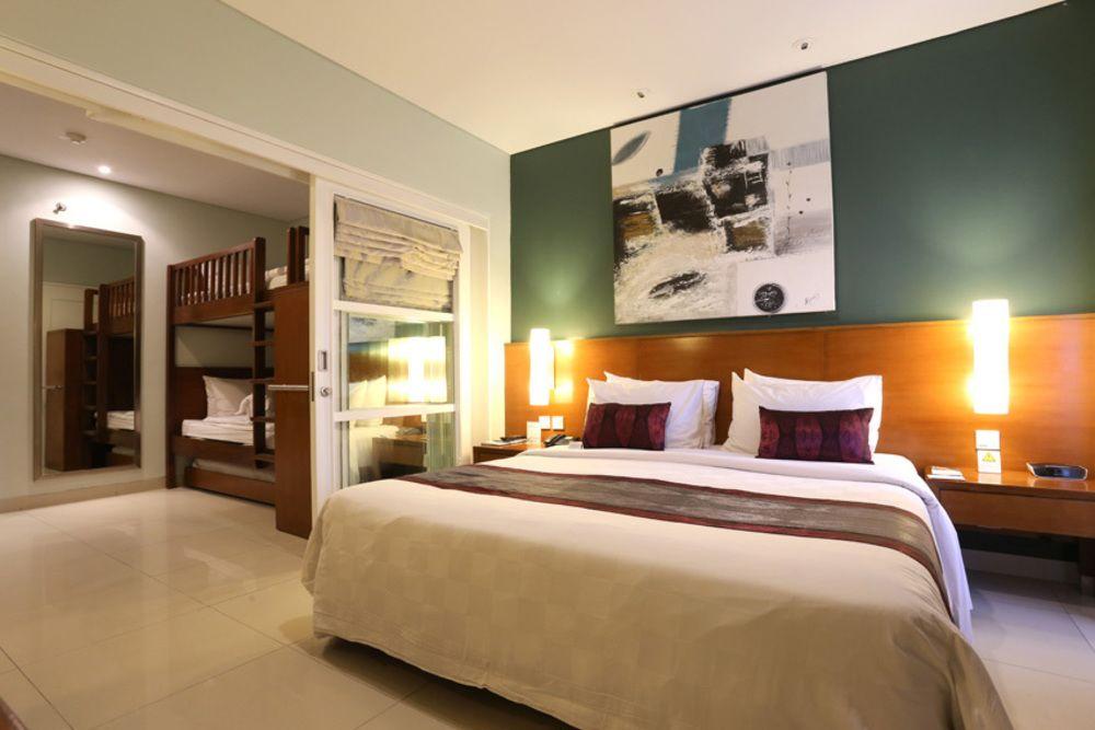 family studio, family studio room, family studio bali dynasty, family studio bali dynasty resort