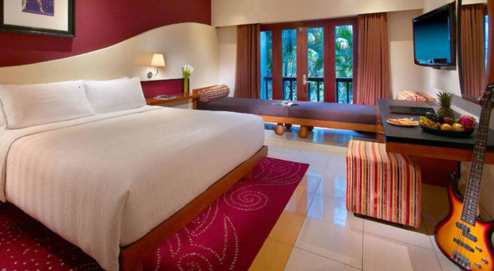 Deluxe Room Hard Rock Hotel Bali