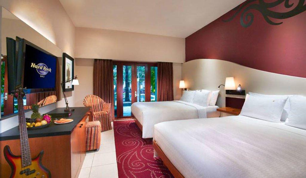 deluxe premium, deluxe premium pool access, hard rock hotel, hard rock bali, hard rock hotel bali