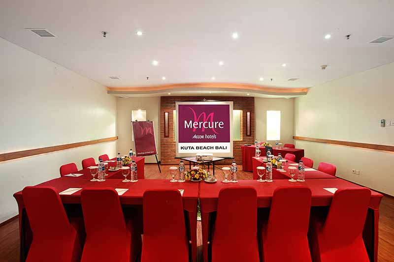 kintamani meeting room, meeting room mercure kuta, mercure kuta, mercure kuta hotel