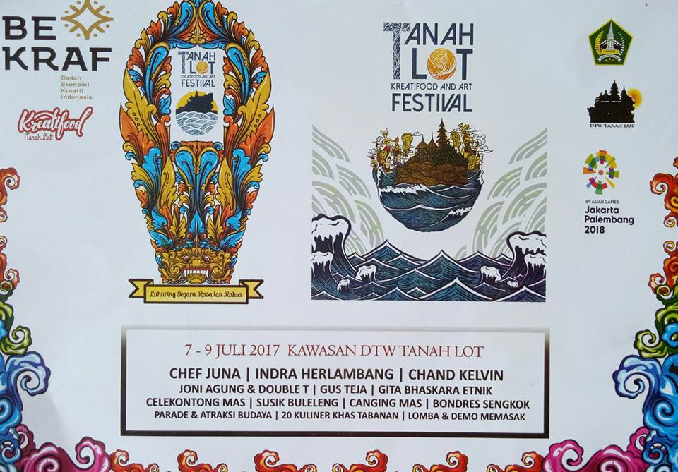 Tanah Lot Art and Food Festival 2017