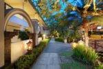 tropical garden, legian paradiso garden