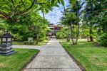 tropical garden, rama beach garden, rama beach resort garden