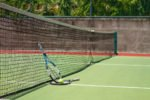 tennis court, rama beach tennis court