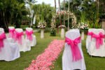 wedding settup, rama beach wedding, rama beach resort,