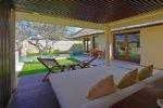 daybed single pavilion, single pavilion bale, the bale nusa dua