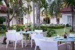 lunch garden , lunch garden bali breez , lunch garden bali breezz , bali breezz hotel , bali breezz